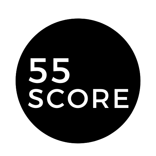 55Score logo by god55